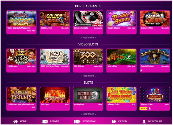 No Bonus casino- Get cashback