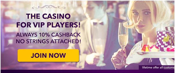 No deposit Casino Cashback