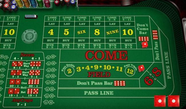 Online Craps Gamesc-10 Most Popular Casino Games in Ireland