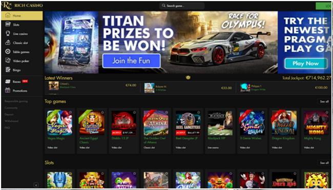 Online bingo party -Play Bingo at Rich Casino