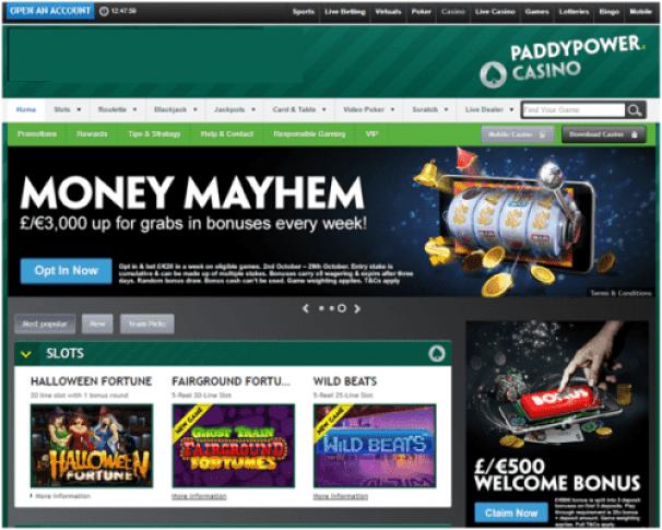 Paddy power casino