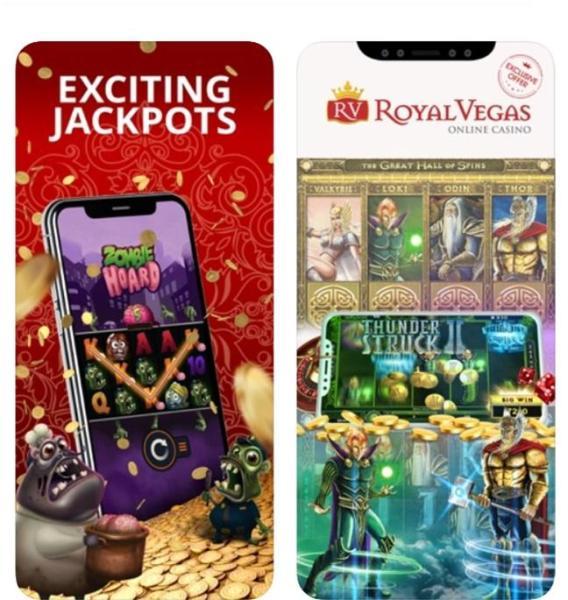 Royal Vegas app- Diverse slots to play