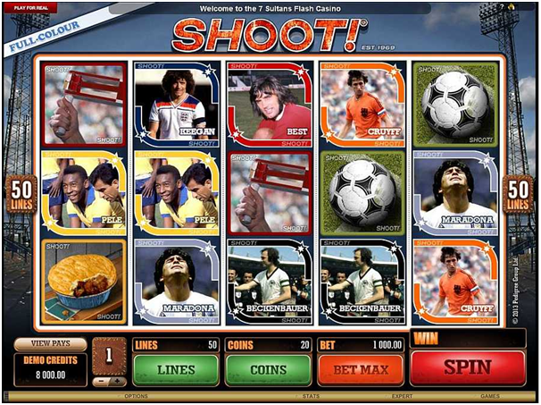 Shoot slot from Microgaming