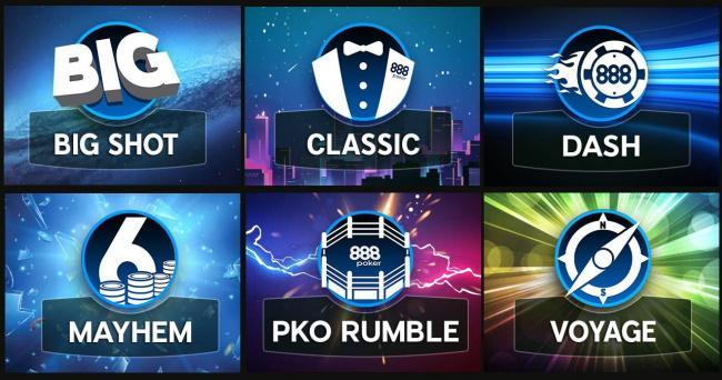 Weekly guaranteed tournaments