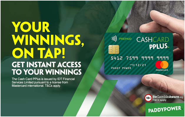 What is Paddy Power Cash Card PP Plus for Irish Punters