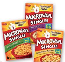 Free Samples of Hamburger Helper Microwave Singles
