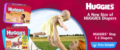Free Samples of Huggies Diapers