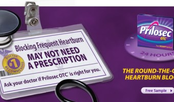 Free Samples of Prilosec OTC