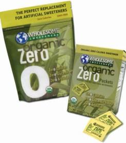 Free Samples of Organic Zero Sweetener