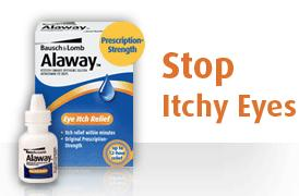 Free Samples of Alaway Eye Drops