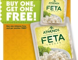 BOGO Free Athenos Feta Cheese Coupons
