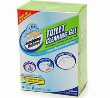 Scrubbing Bubbles Toilet Cleaning