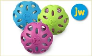 jw crackle balls