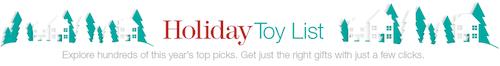 2013 Amazon Holiday Toy List