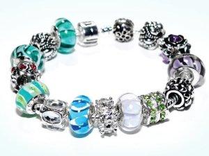 Custom Iris Bracelet