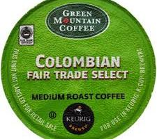 Free Samples Green Mountain Fair Trade Coffee