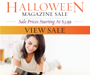 Halloween magazine sale