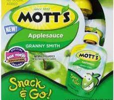 Mott's Snack & Go for $0.38 Each at Target