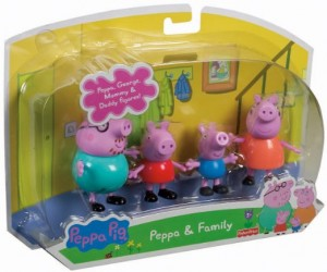 Fisher Price Peppa and Family