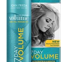 Free Samples of John Frieda 7 Day Volume