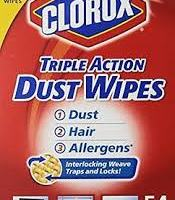 Clorox Triple Action Dust Wipes for $0.41 at Walmart
