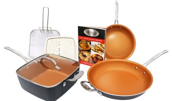 Todays Deal of the Day:  60% off!  Gotham Steel Tastic Bundle 7 Piece Set