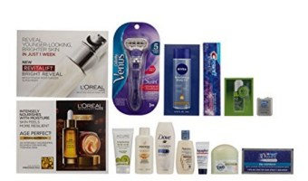 Grab this deal!  Beauty Sample Box ($11.99 credit with purchase of select items)