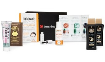 Grab the February Target Beauty Box for $10!