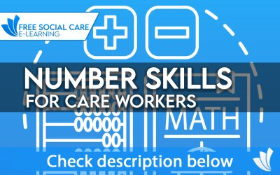 number skills for care work