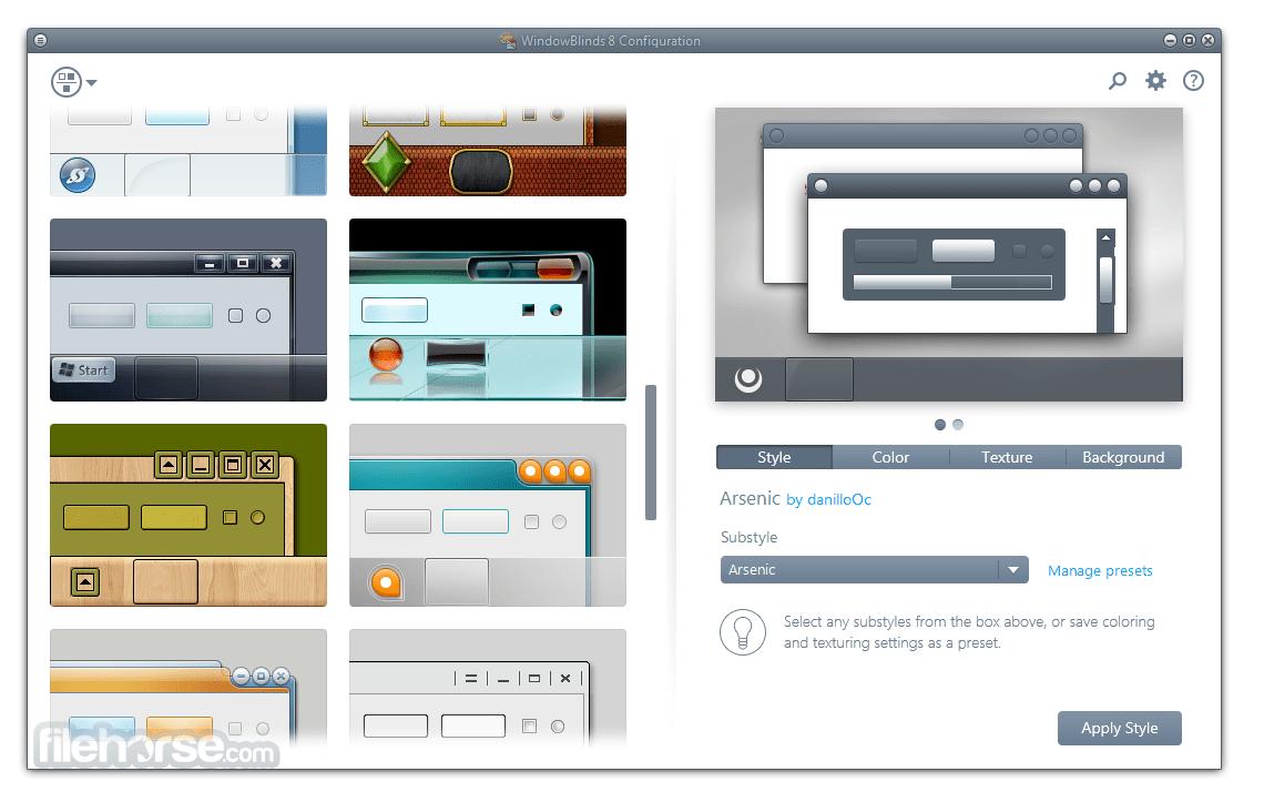 WindowBlinds Free Download