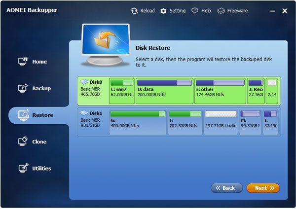AOMEI Backupper Standard 4.0.2 Free Download latest version