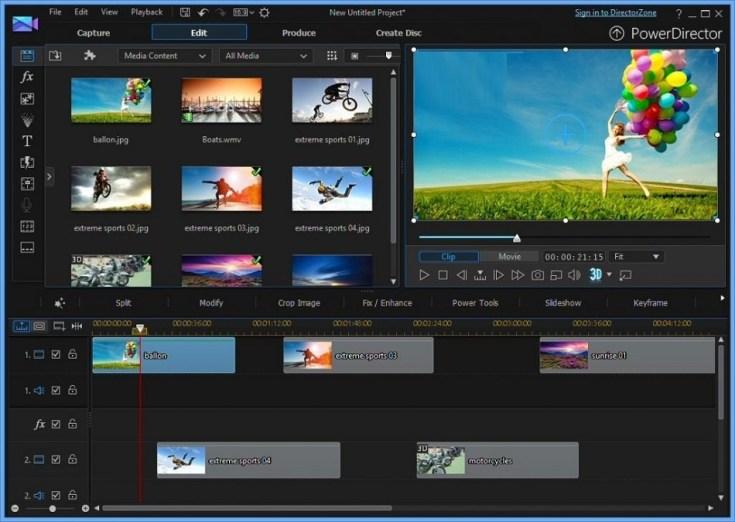 Direct Link Download CyberLink PowerDirector Ultimate 18.0
