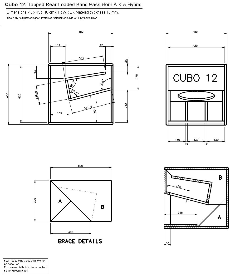 12 Subwoofer Box Diagram Free Download Oasis Dl