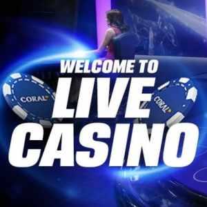 Live Casino banner