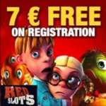 Redslots Casino €7 free spins NDB and €250 free bonus