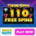 Prime Slots – 110 free spins & 200€ gratis & no deposit bonus
