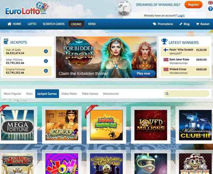 Euro Lotto Casino review