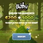 "Ikibu Casino 5000 ""seeds"" free spins + 150% up to €300 free bonus"