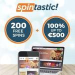 Spintastic! Casino – 200 free spins & 500€ bonus – Netent & Novomatic