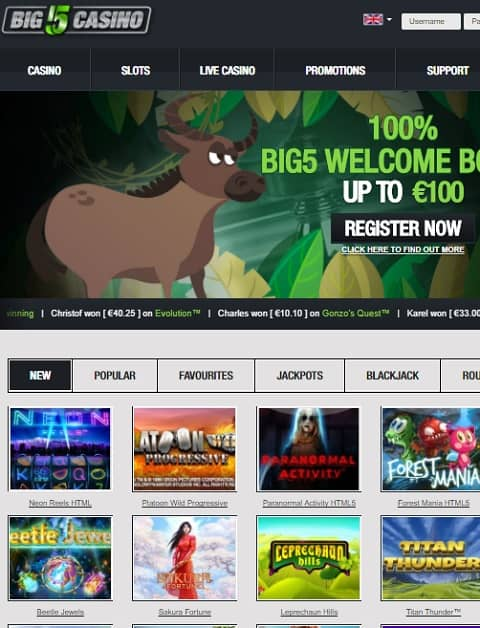 Big5 Casino Review
