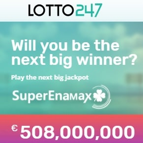 Lotto247.com 200% bonus and free lotto tickets! Progressive jackpots!
