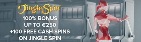 Legolas Casino 100 free spins and 100% welcome bonus