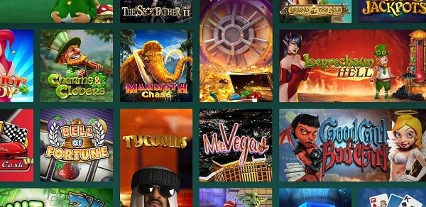 Cresus Casino games