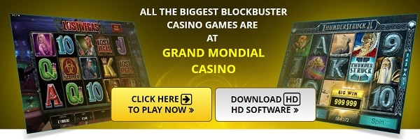 Grand Mondial Casino sign up and log in