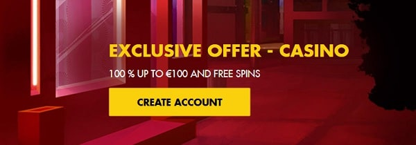 Bethard Casino exclusive bonus