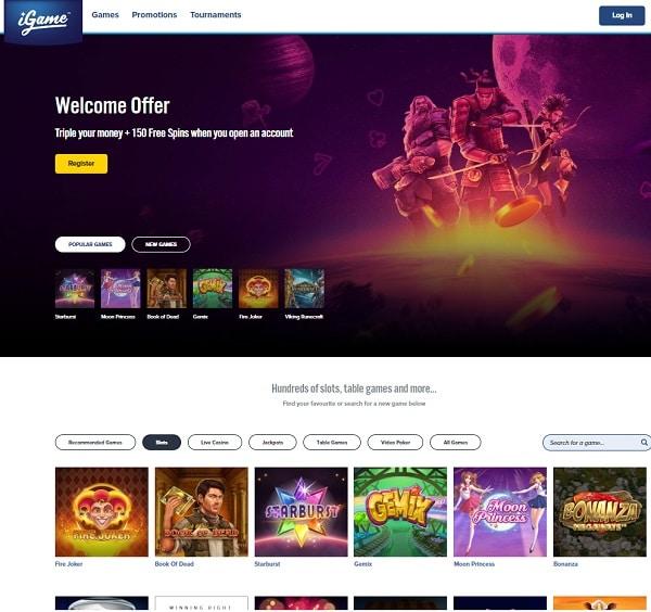 iGame.com Online Casino