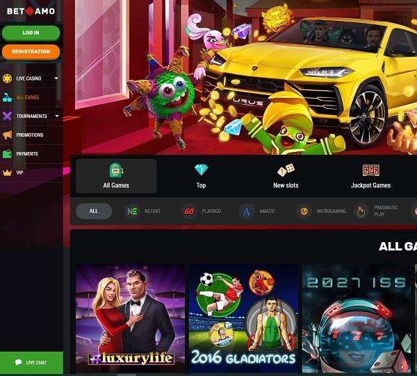 Betamo Casino Review & Rating