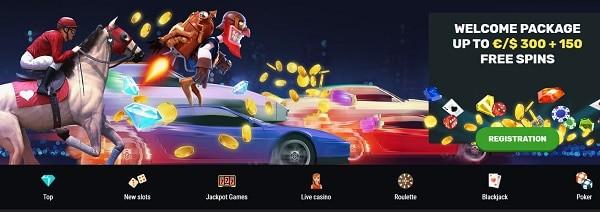 Games at bet amo casino