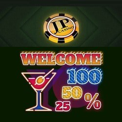 JP Casino 150% up to €/$600 free bonus on 1st deposit