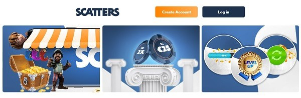 Scatters Review - free spins, risk-free bet, welcome bonus